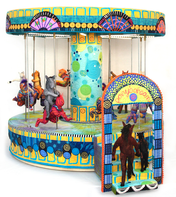 Quilted Carousel by Susan Else