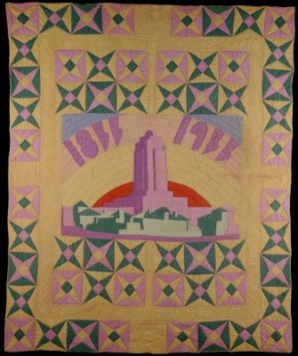 Quilt by Aurora See Dyer for 1933 Sears National Quilt Contest