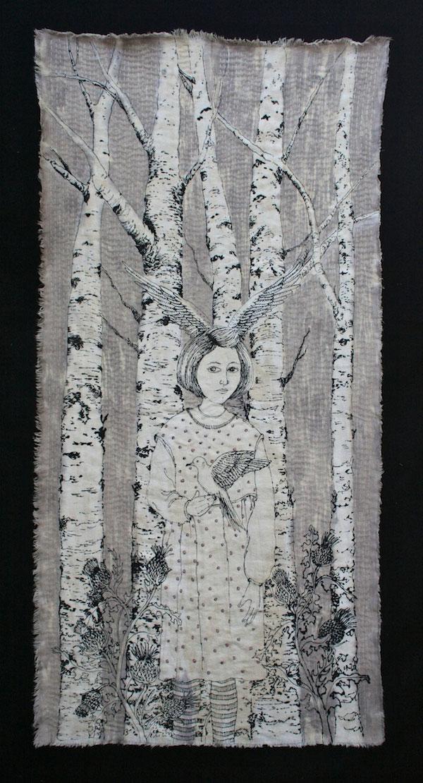 Bernadette in Artichokes by Kate Gorman